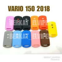 Sarung Remote / Kondom Kunci Keyless Vario 125/150 New 2018