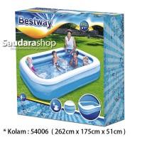 Bestway 54006 Kolam Renang Anak [262 x175 x51cm] / Kolam Anak