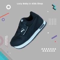 Sepatu Anak Full Hitam Sneakers Puma Anak