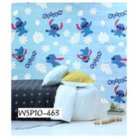Wallpaper stiker dinding motif Stitch lucu isi 5 roll