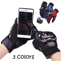 Sarung Tangan Gloves Probiker Full Pro Biker Touch Screen MCS-01C