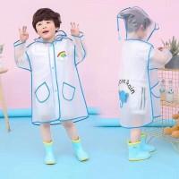 Jas hujan terusan anak I Love Rain / semi transparan / animal - 85002