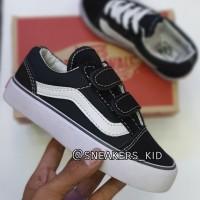 Sepatu anak vans oldskool hitam series