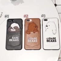 We Bare Casing IPhone XS MAX XR 6s 6Plus 7 8 7plus X Cute Panda Bear W