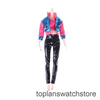 TOPL 1Set Outfit Casual Daily Travel Pant Clothes For Barbie Doll Acce