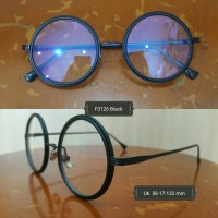 Kacamata Bulat Normal, Minus, Silinder, lensa anti radiasi supersyn