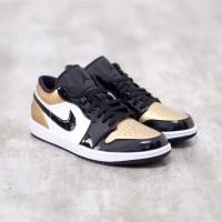 Nike Air Jordan 1 Low Gold Toe 100% Authentic