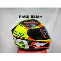 HELM KYT R10 2 YELLOW FLUO