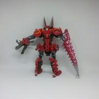 Mainan Robot Transformers Weijiang Dinobot Scorn- Force Flash T-rex