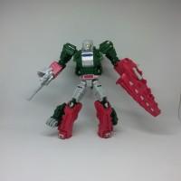 Mainan Robot Weijiang Transformers Titans Skullcruncher- Champsosaurs