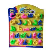 EJ - Mainan Edukasi Anak Huruf Hijaiyah Magnet