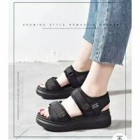 sepatu sandal gunung wanita model wedges casual dw15dw wedges murah