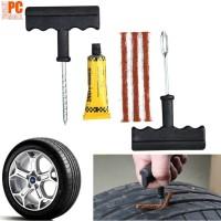 Tyre Repair Kit Set Peralatan Tambal Ban Mobil Sepeda Motor Tubeless