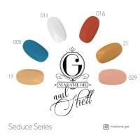 Madame Gie Nail Shell Peel Off - Seduce Series [ isi 6 pc ] BPOM