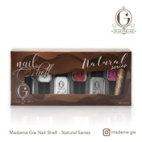 Madame Gie Nail Shell Peel Off - Natural Series [ isi 6 pc ] BPOM