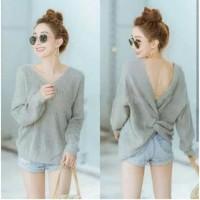kaos / blouse / baju / kaos wanita / knit / hem / kemeja