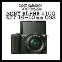 KAMERA MIRRORLESS SONY ALPHA 5100 ALFA 5100 A5100 KIT 16-50mm OSS