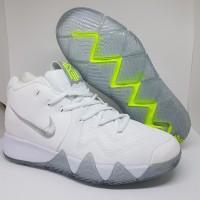 Sepatu Basket Nike Kyrie Irving 4 White Silver Man Murah