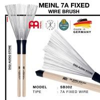 Stick Drum Meinl SB302 7A Fixed Wire Metal Brush Drumstick Stik Brush