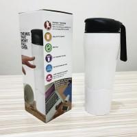 promo Mighty Mug / Botol Ajaib Anti Tumpah Termos Gelas Tumbler H331