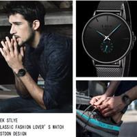Pria Watch oringinal LIGE jam tangan rantai elegan underwatter