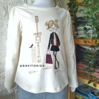 (1-4T) Kaos Anak Perempuan Branded Original Baby Gap 1 - 4 Tahun