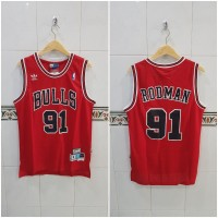 Baju Jersey Basket NBA Swingman Classics Chicago Bulls Dennis Rodman