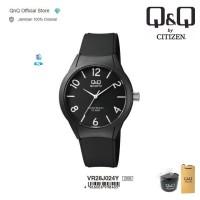 Q&Q QnQ QQ Original Jam Tangan Pria Rubber - VR28 VR28J Water Resist