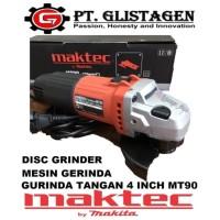 """Mesin Gerinda / Gurinda Tangan / Disc Grinder / Grinda 4"""" Maktec MT90"""