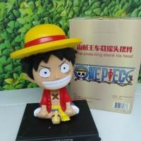 Cover Dashboard Mobil One Piece Luffy/Chopper