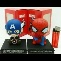 Cover Dashboard Mobil Captain America/Spiderman/Deadpool