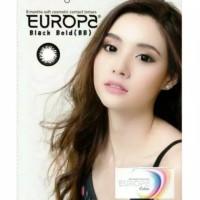 Softlens Murah Europa Black Bold Original Korea