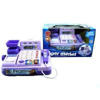 Cash Register Frozen 5525 Ungu - Mainan Anak Kasir Kasiran