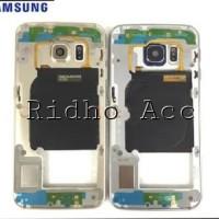 SAMSUNG S6 FLAT G920 ORIGINAL FRAME LCD/ TATAKAN LCD / TULANG BAZEL