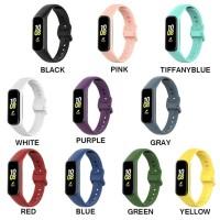 Tali Jam Simple Rubber Strap Khusus Untuk Samsung Galaxy Fit e R375