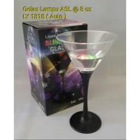 Gelas Cocktail Sensor Air Lampu LED LY 1818 auto sensor air