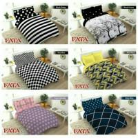 FATA BedCover Set Motif 4D King Size 180x200 Queen Size 160x200