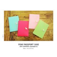 READY HARGA HEMAT Korean Pony Passport Cover Sampul passport dari kuli