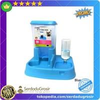 PROMO Tempat Makan Anjing Kucing Automatic Pet Food Dispenser Full Set