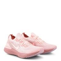 Original Sepatu Sneakers Nike Epic React Flyknit 2 Running Shoe Pink
