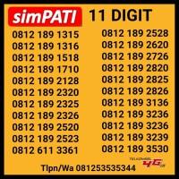 Nomer Cantik Simpati 11 Digit Kartu Perdana Telkomsel