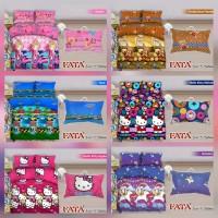 FATA BED COVER SET UK 160X200 DAN 180X200 EDISI KARAKTER ANAK