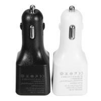 Car 3 USB Charger Negative Ion Ionizer Oxygen Generator Original