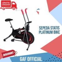 Sepeda Statis Platinum Bike - Alat Olahraga Rumah - Terapi Jantung dll
