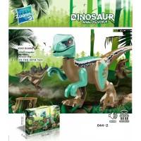 044-2 Lego Dinosaur Velociraptor Blue Dinosaurus