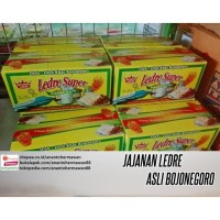 jajanan Ledre Super Pisang Raja asli Bojonegoro - Jawa Timur (isi 30)
