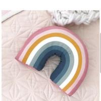 Rainbow cushion bantal dekorasi scandinavian pelangi kamar anak