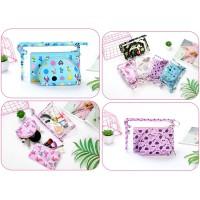 Korean 3in1 cosmetic beauty pouch / tas kosmetik 3 in 1 / serbaguna