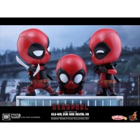 HOT TOYS COSBABY DEADPOOL SET OF 3