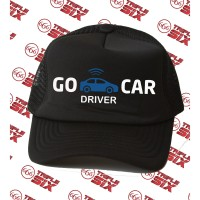Topi Trucker Gocar Go Car Driver Keren gojek